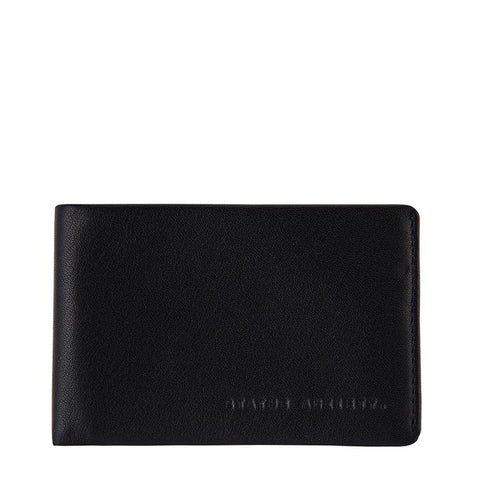 STATUS ANXIETY Quinton Wallet Black
