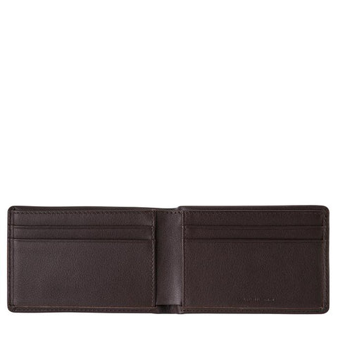STATUS ANXIETY Quinton Wallet Chocolate