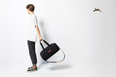 STATUS ANXIETY No Limits overnight bag black