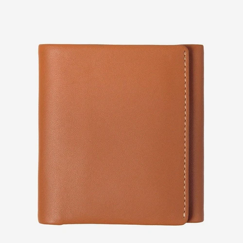 STATUS ANXIETY Vincent Wallet camel
