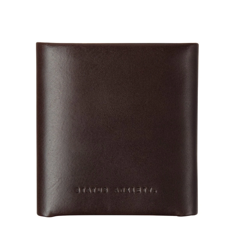 STATUS ANXIETY Vincent Wallet chocolate