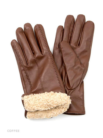 HIDE Leather Glove 1904 coffee