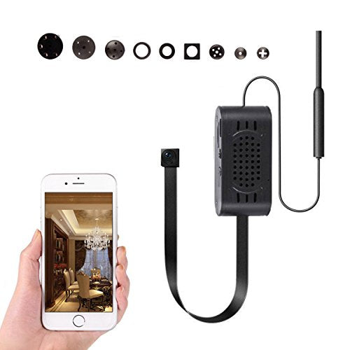 1080P  Wifi Hidden Camera with Motion Detection Alarm Remote Home Nanny Cam for iPhone/Android Phone/iPad/PC - PANNOVO