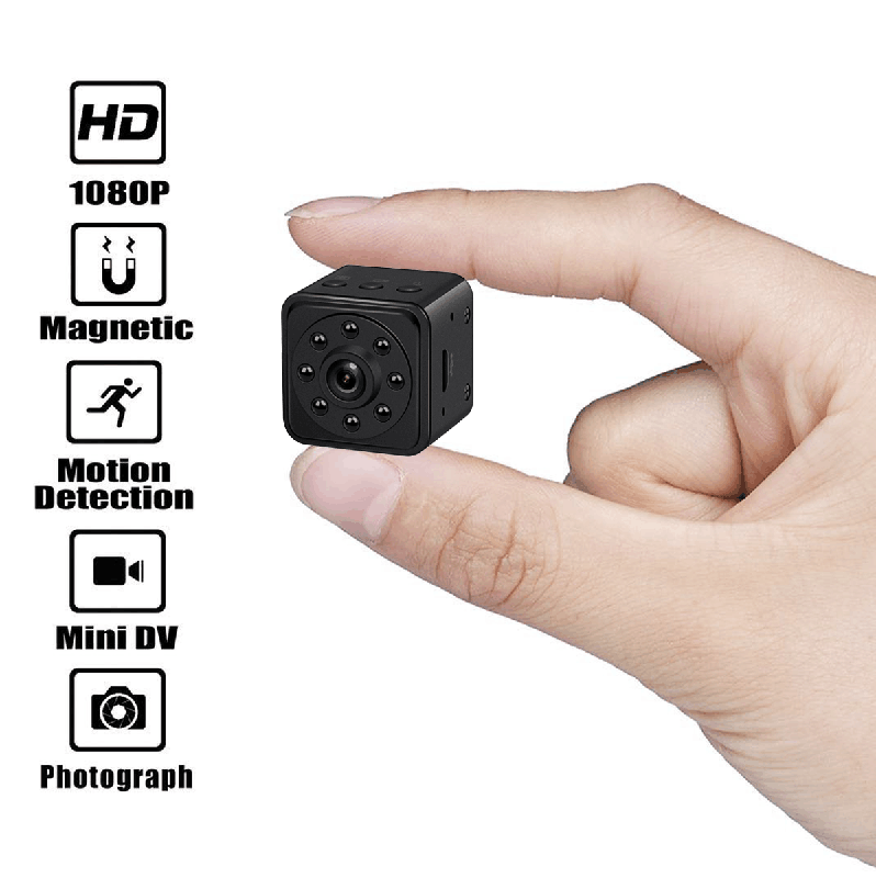 Mini  Hidden Camera HD 1080P  Security Camera with Motion Detection and Night Vision - PANNOVO