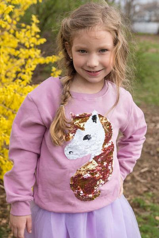 SPARKLE BY STOOPHER Unicorn Sweatshirt