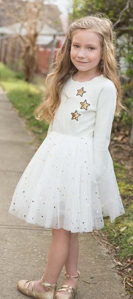 Sparkle by Stoopher Star Tulle Dress