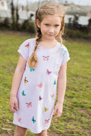 SPARKLE BY STOOPHER Butterfly Patch Dress