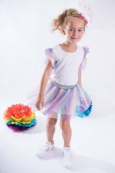 SPARKLE BY STOOPHER Girls Tulle Skirt & Top