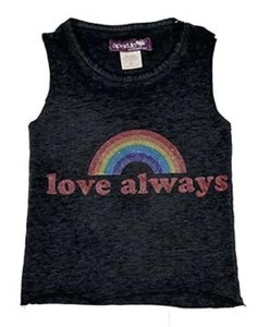 Sparkle By Stoopher Muscle Tank - Love Always