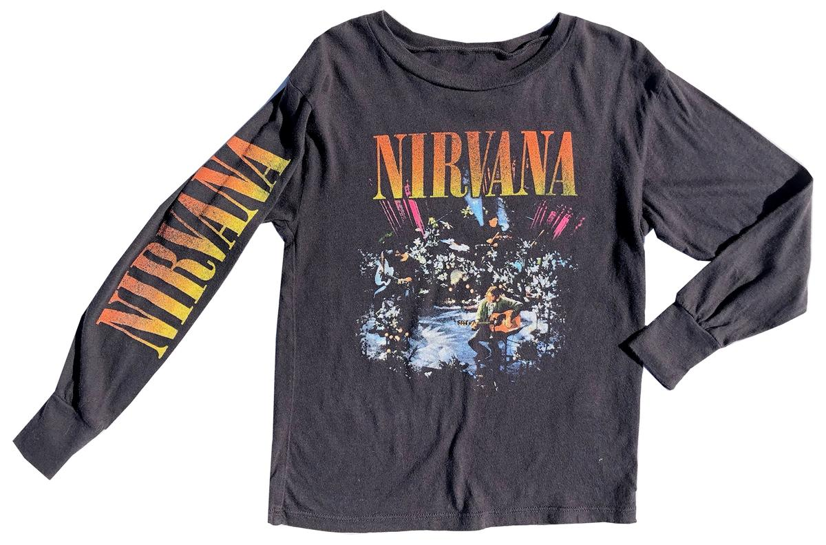 Rowdy Sprout - Nirvana Long Sleeve Tee