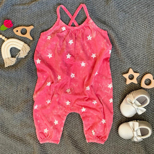 Rainbow & Rocket - Star Romper