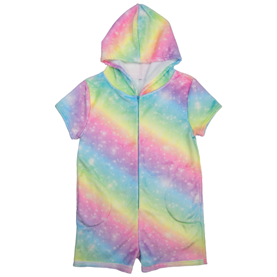 Iscream - Shimmering Rainbow Plush Romper