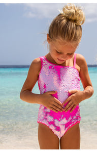 Shade Critters One Shoulder Sequin Swimsuit