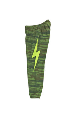 AVIATOR NATION BOLT STITCH SWEATPANTS - CAMO