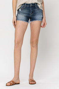 Vervet by Flying Monkey - MID RISE CUT OFF SHORTS