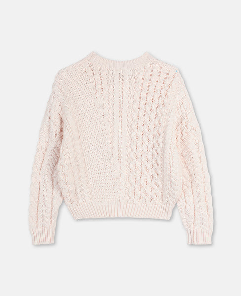 Stella McCartney - Cream Cable Knit Sweater