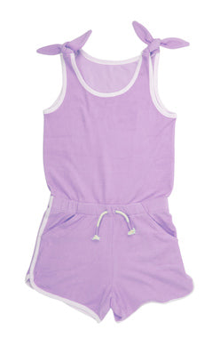 Cover Up, Purple - Romper