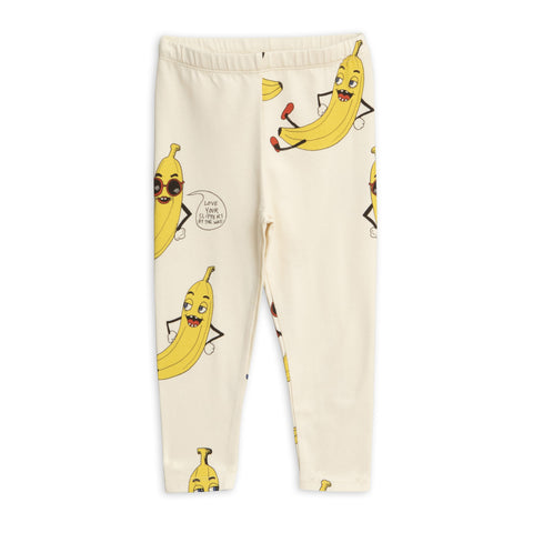 MINI RODINI Banana Print Leggings