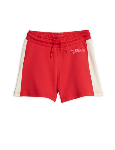 Mini Rodini Rugby Shorts - Red