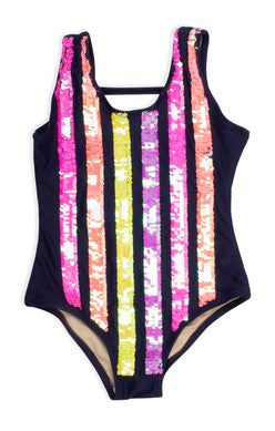Shade Critters Flip Sequin Swimsuit