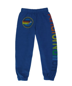 KID'S AVIATOR NATION SWEATPANTS - ROYAL