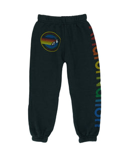 KID'S AVIATOR NATION SWEATPANTS - CHARCOAL