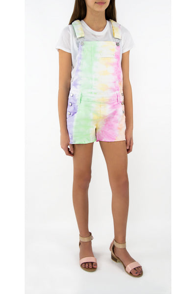 Tractr Girls Tie Dye Shortall