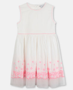 Stella McCartney Stars Embroidery Cotton Dress