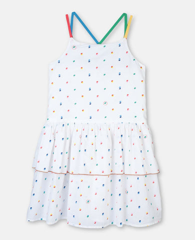 STELLA MCCARTNEY KIDS Multicolor Cotton Dress
