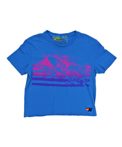 Aviator Nation Boyfriend Tee, Surfer Splash