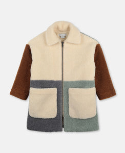 Stella McCartney - Teddy Patchwork Coat