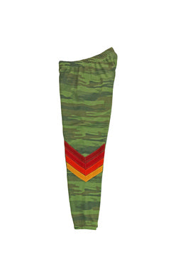 AVIATOR NATION CHEVRON SWEATPANTS - CAMO