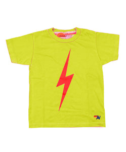 Aviator Nation Kids Bolt Tee - Neon Yellow