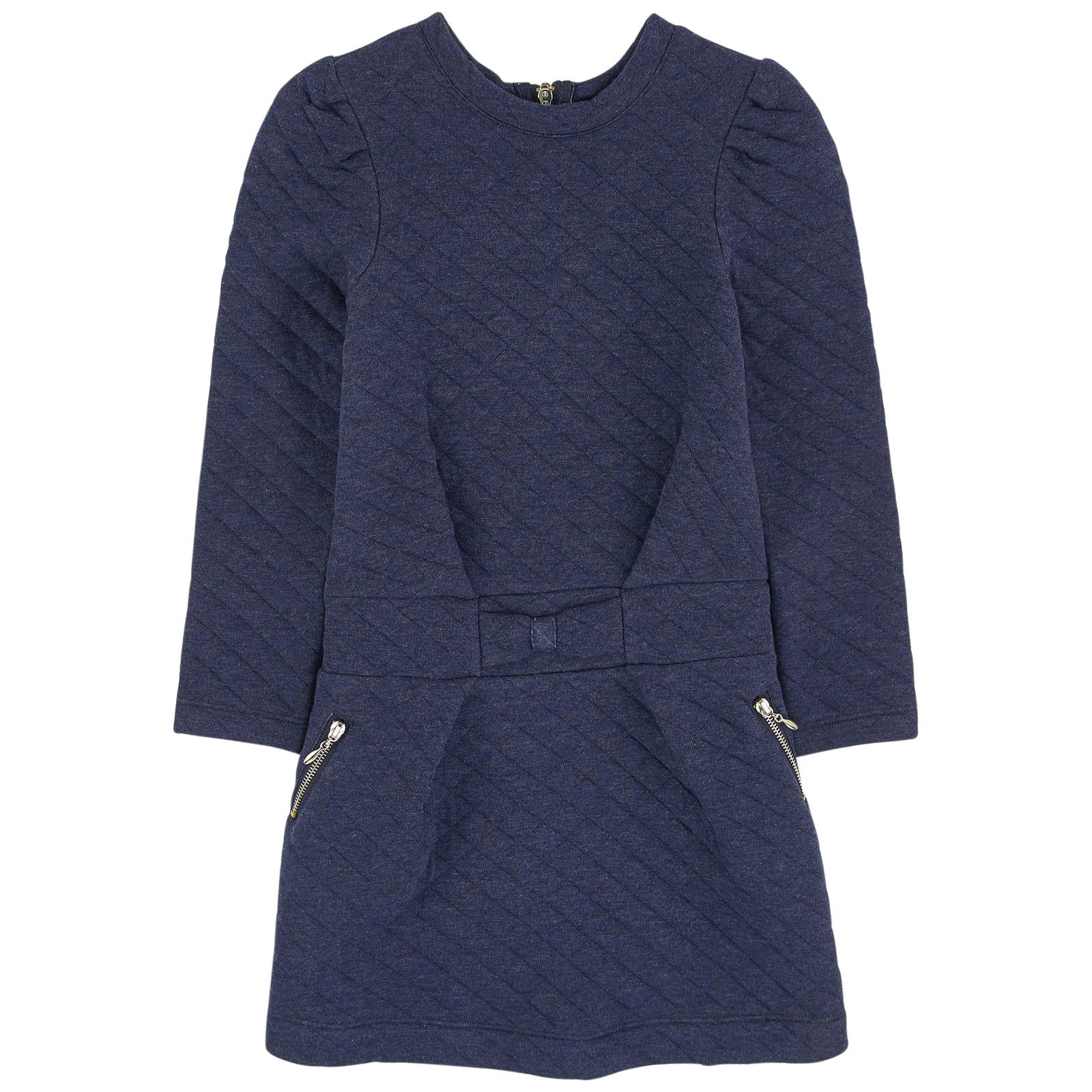 LILI GAUFRETTE L/S Quilted Dress