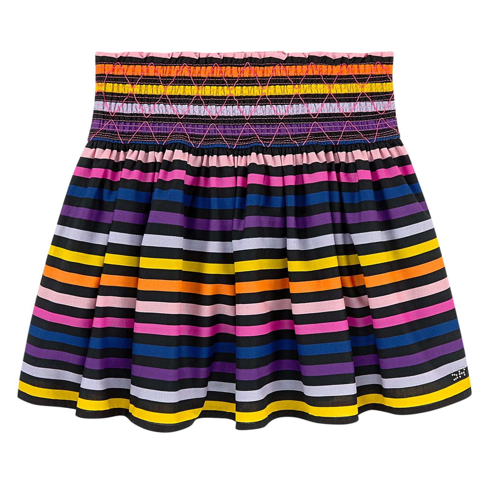 Sonia Rykiel Paris Multicoloured Cotton Skirt
