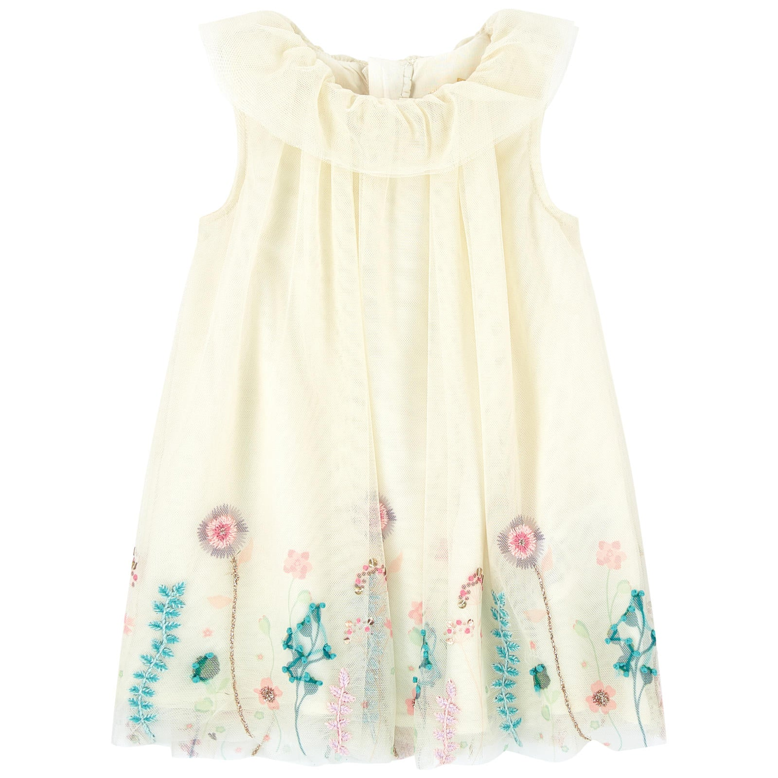 BILLIEBLUSH Embroidered tulle dress