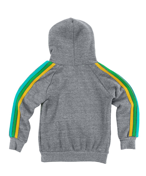 Aviator Nation KID'S CLASSIC HOODIE - HEATHER GREY