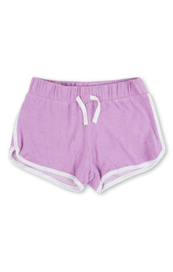 Shade Critters Terry Shorts, Purple