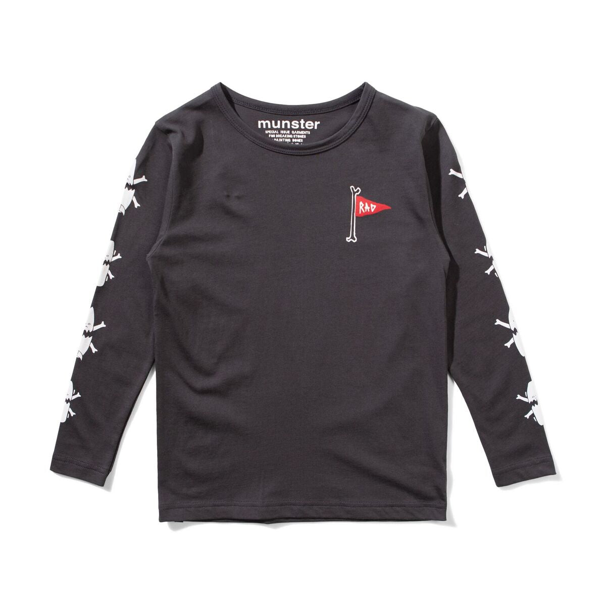 MUNSTER KIDS Long Sleeve Shirt with Flag