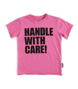 Nununu - Handle With Care Tee - Pink