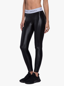 Koral Aden Legging - Black/White