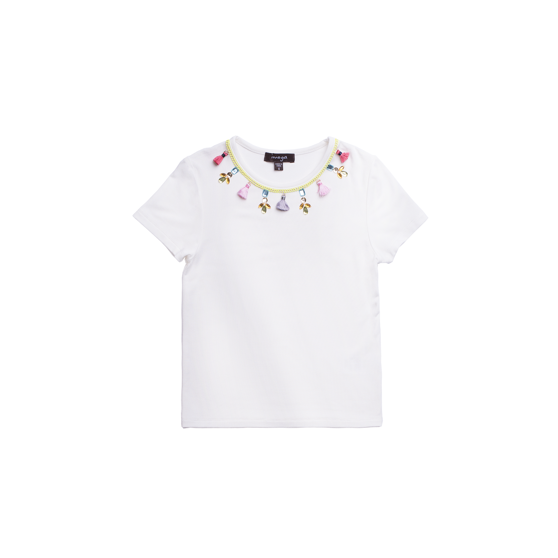 Imoga Cream Amita Jewel Tee