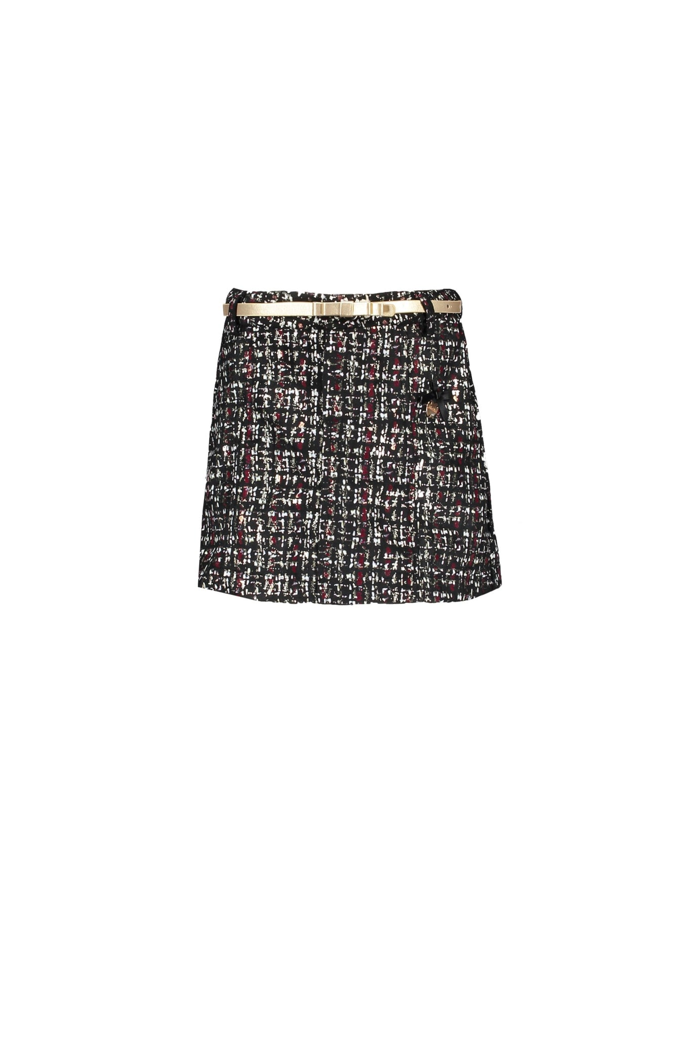 LE CHIC Tweed Skirt