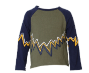 KINDERKIND Boys Zig Zag Sweater