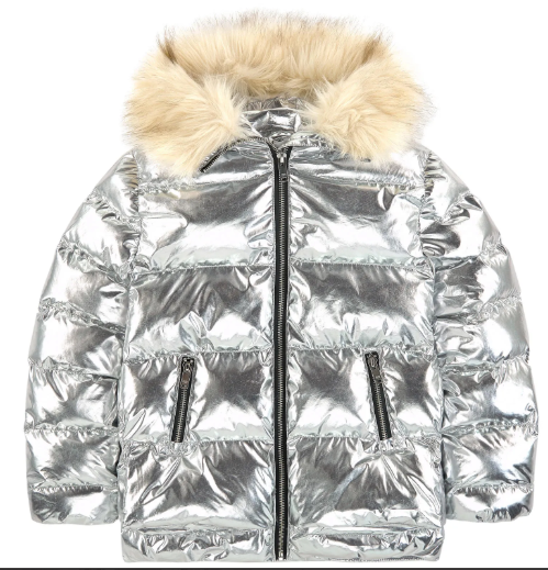 SONIA RYKIEL Girls Doliana Nylon Puffer Coat