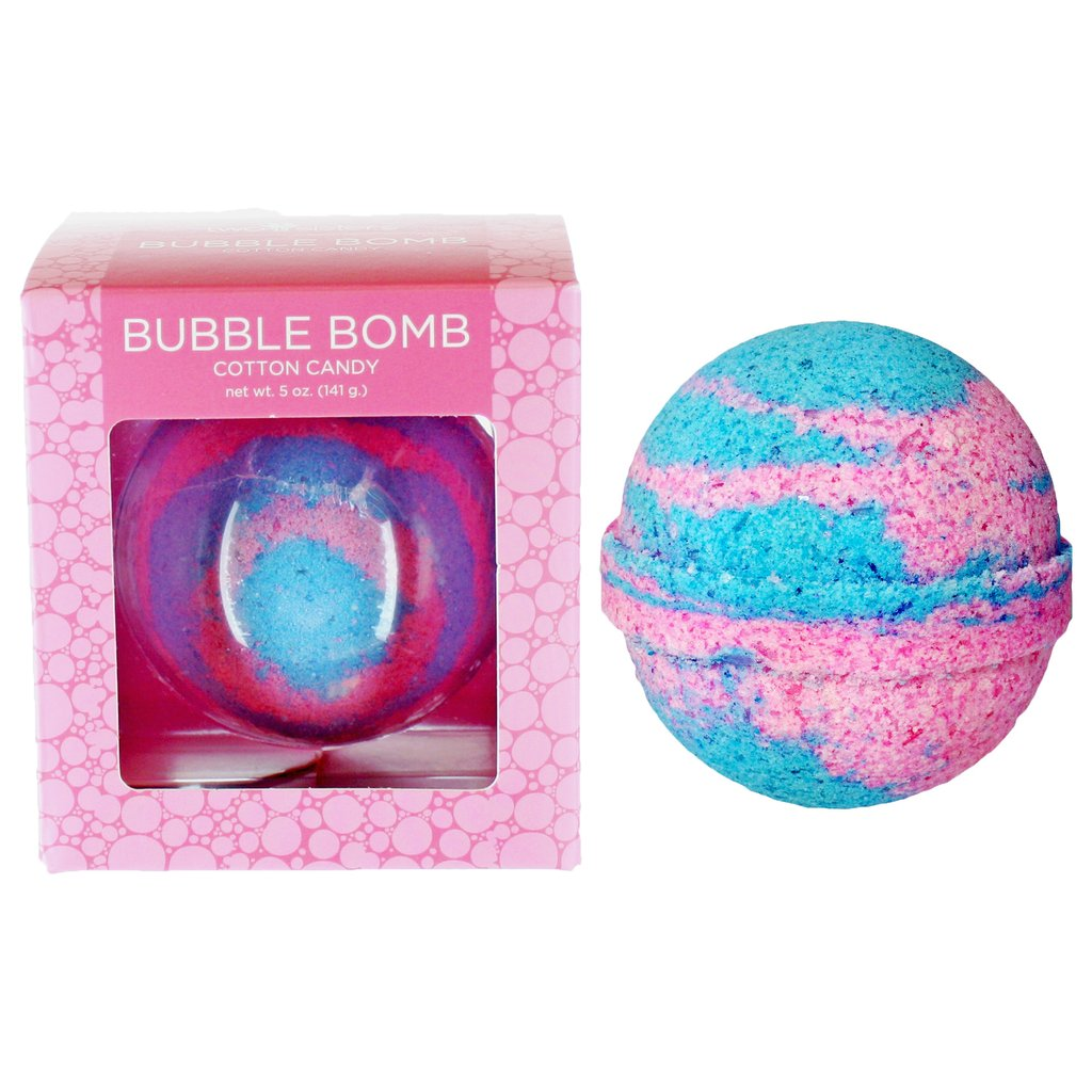 Cotton Candy Bubble Bath Bomb