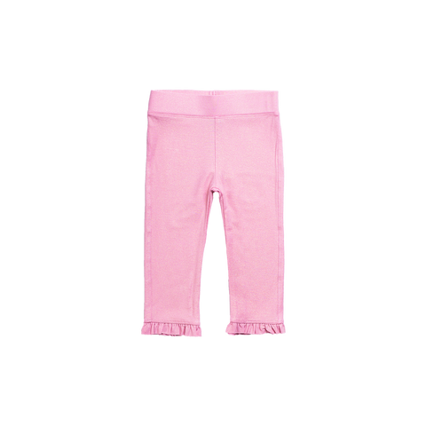 Imoga Eden Ruffle Girls Leggings - Candy Pink