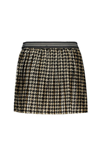 FLO Girls Houndstooth Skirt