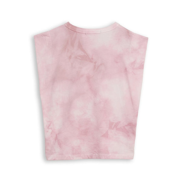 Finger in the Nose Pink Tie Dye Sleeveless Tee