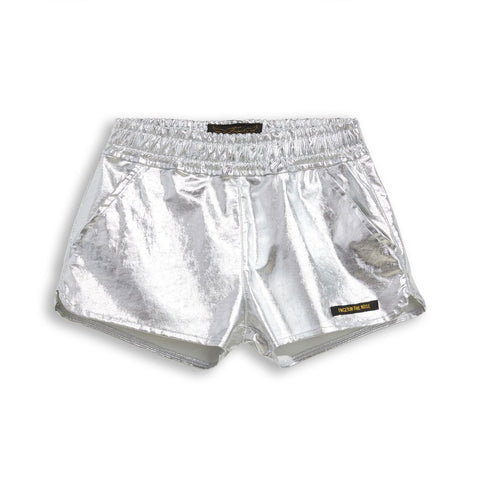 Finger in the Nose Metallic Shorts